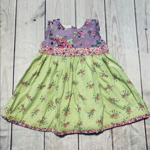 Cute Floral Hanna Andersson Dress